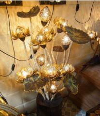 Coconut Lamp vase Decoration