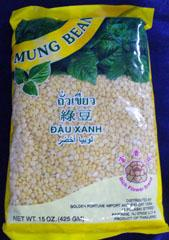 Green Mung Bean Split Without Husk