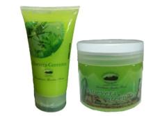 Green Tea Aloe Vera Salt Body Scrub