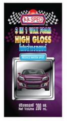 SP006 - 3 In 1 Wax Foam - High Gloss (200 mL.)