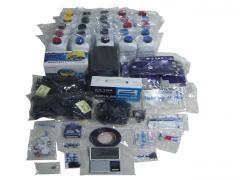 Medium starter package refill inkjet cartridges