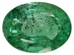 Oval Zambian Emerald Gemstone