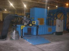 SRS Twin Ram 120T Recycling system