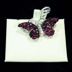 Red Butterfly Pin