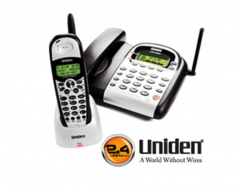 Uniden Cordless Phone CD-AS8324-SL