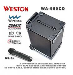 WA-950CD VHF Wireless Amplifier
