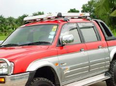 Aluminum Roof Racks: Aero Slim Line