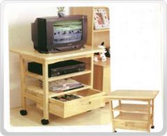 TV & DVD Shelf with Drawer