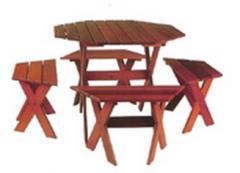 Outdoor table set/ 5 PCS