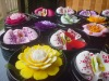 Handmade Carved Soap Flowers
