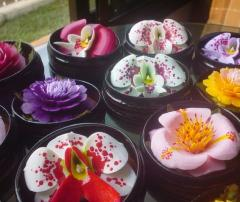 Many Variety of Soap Flowers