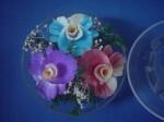 Soap Flower Plastic Case