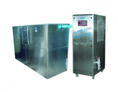 Water chiller air / water cooling type