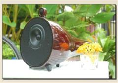 Home theater loudspeaker