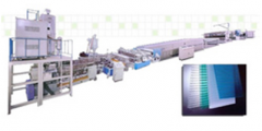 Pp-Pc Hollow Sheet Extrusion Line