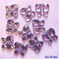 Jewels Embellishment - Butterfly Purple