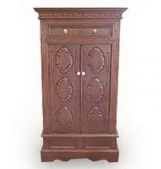 Antique Cupboard Carved