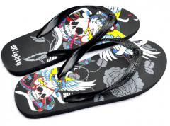 Mighty Goth Flip Flop Shoes
