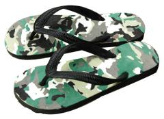 Camouflage Foam Fun Summer Flip Flop Shoes