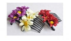 Fabric Flowerrs hair accessories