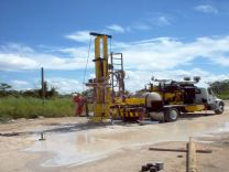 The CD3TTM H itruck mounted drill rig