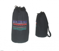 Akha Round Back Pack-Black