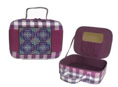Hmong Jewelry Box-Purple
