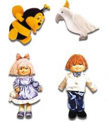 Soft Dolls and Stuffed Animals