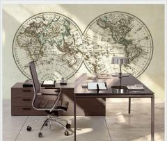 Map Wallpaper Glob