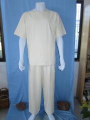Plain T-shirt pajama with long pants