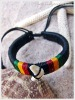 Leather Bracelet Natural Handmade Jewelry