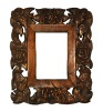 Handmade Rose Frame Home Decoration Wood