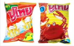 Crispy Crab Chips Snacks