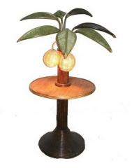 LP10GS-T24 Palm Tree Endtable Lamp