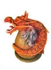 Snake Dragon orange