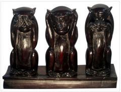 Resin figurine - Three monkey
