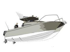 Fishing Catamaran