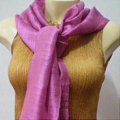 Thai Raw Silk Shawl