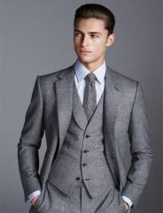 Custom Wool Suit for Men Fashion 2018