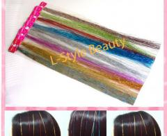 Silk Synthetic highlight hair