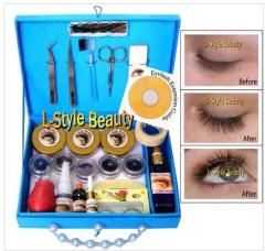 Eyelash Extensions Kit For 150 Persons + VCD