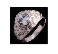 Sterling Silver Plating Ring