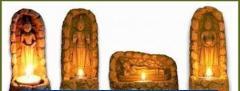 Candle Holders-Buddhism sense-Day Buddhas
