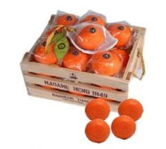 Orange natural soap vitamin C