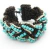 Boho Tuquoise Wrapped Bracelet