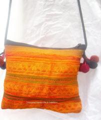Thai Hmong Bag Old Fabric