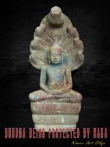 Buddha Protected By Naga
