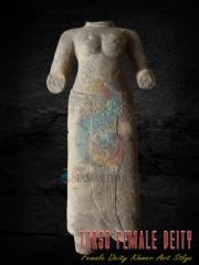 Bayon Torso Sculpture