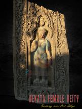 Large Craft Apsara Deity