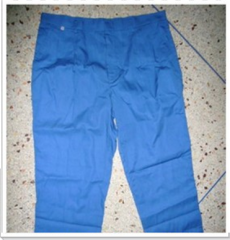 A long-legged pants.
